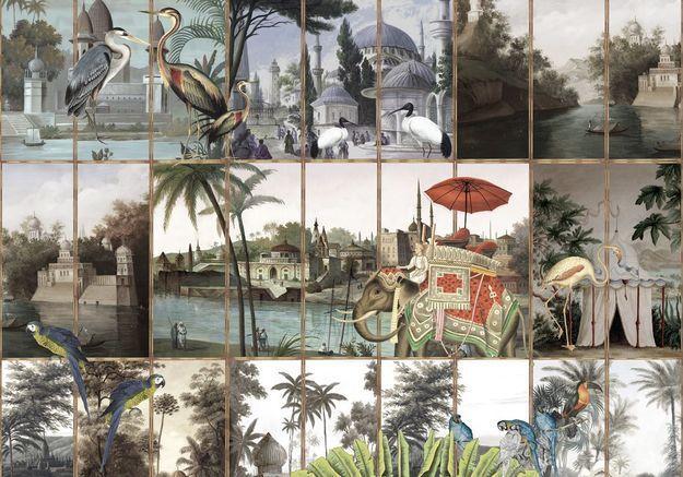 #ELLEDécoCrush : le papier peint tropical de Maison Père x Ananbô