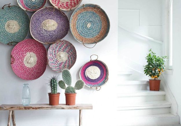 20 idées pour pimper ses murs autrement qu'avec des tableaux