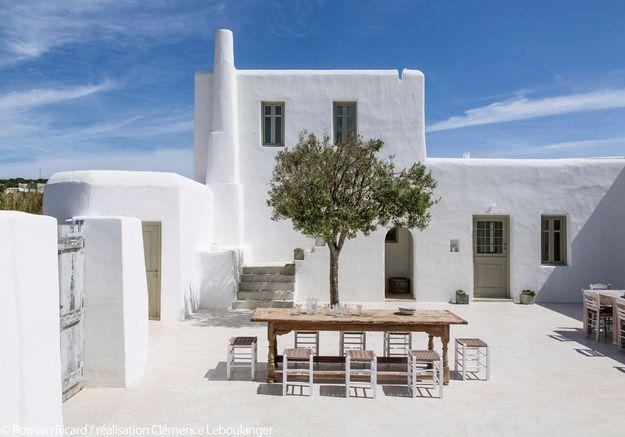 Une maison sur l'île de Paros