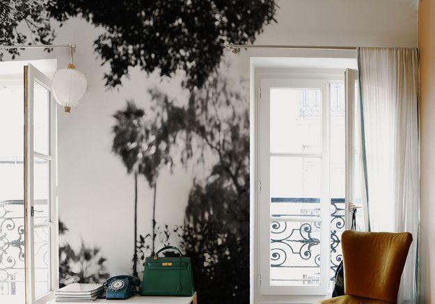 25 superbes papiers peints pour la chambre elle d coration. Black Bedroom Furniture Sets. Home Design Ideas