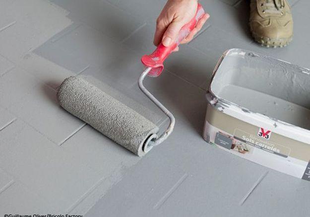 Appliquer la seconde couche de peinture