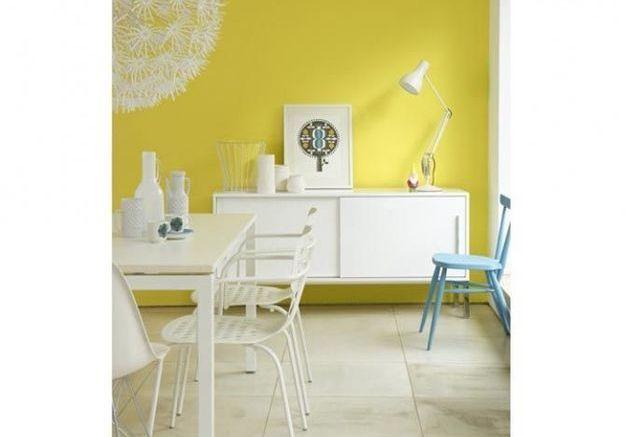 Osez la couleur dans la salle à manger