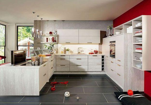Un placard dans la cuisine