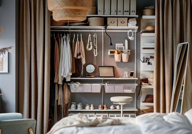 Les dressings IKEA les plus stylés et fonctionnels, ce sont eux !