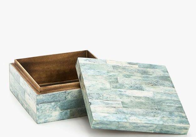 Une boîte à bijoux Zara Home
