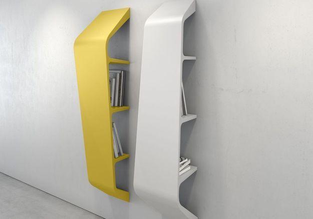 Bibliothèque murale design
