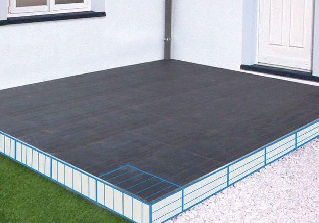 Etape 5 : carreler le bord de la terrasse