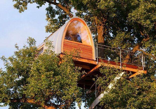 Les plus belles cabanes d'architecte pour dormir haut perché