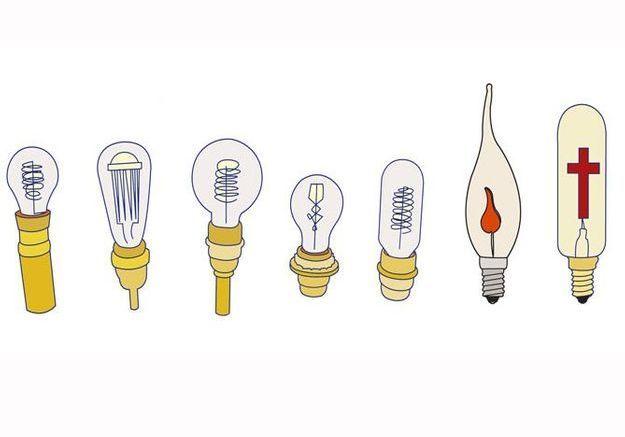 Choisir l'ampoule
