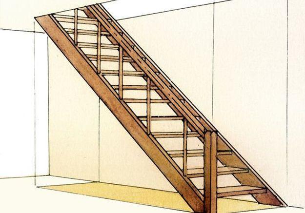 Monter les marches et les contremarches