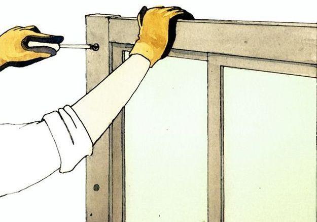Installer la cabine de douche
