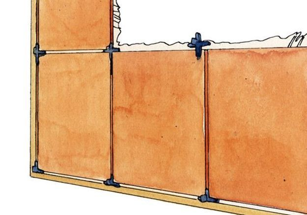 poser un carrelage mural elle d coration. Black Bedroom Furniture Sets. Home Design Ideas