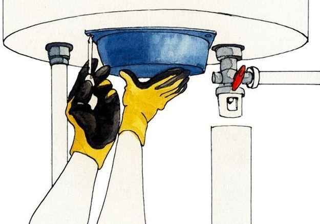 Effectuer les raccordements aux réseaux d'eau