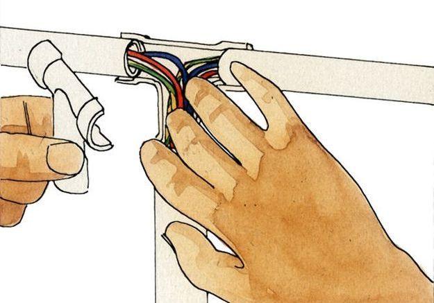Monter une installation électrique apparente