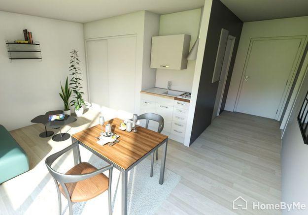 Aménager son studio de 35 m² en misant sur un seul espace multifonctions