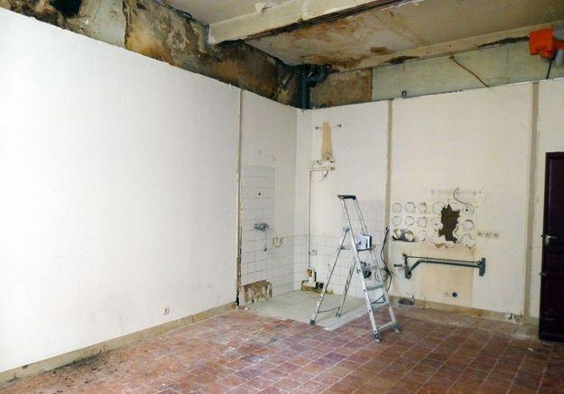 Avant #11 : un studio franchement délabré