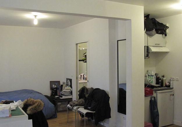 Avant #2 : un studio sans coin salon