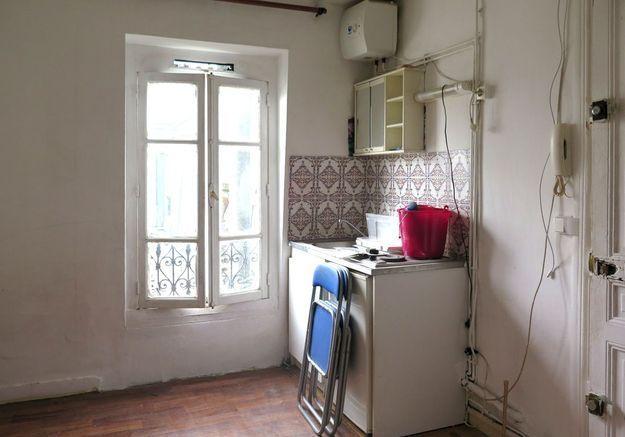 Avant #5 : un studio au coin cuisine XXS