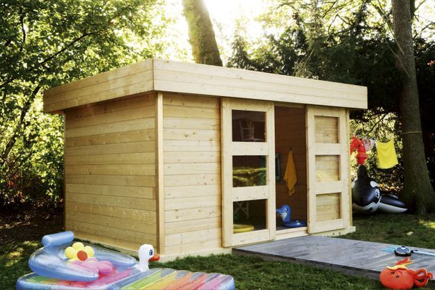 Construire son abri de jardin - Elle Décoration