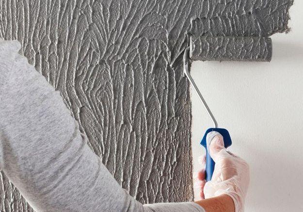 Un enduit effet b ton elle d coration for Peinture pour beton exterieur