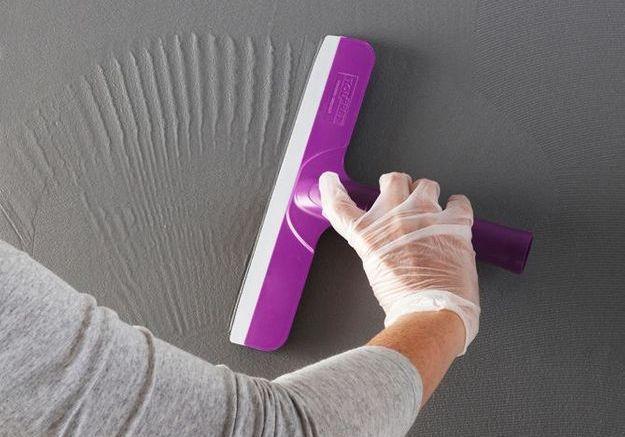 Décorez vos murs avec l'enduit effet béton