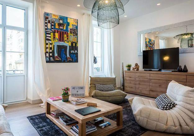 Appartement arty à Biarritz