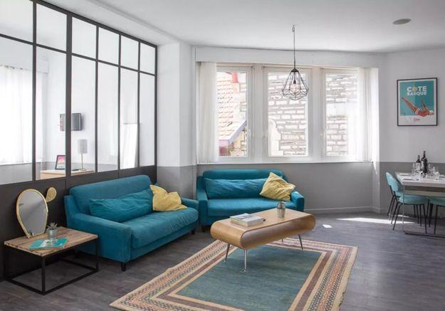 Appartement avec verrière à Biarritz