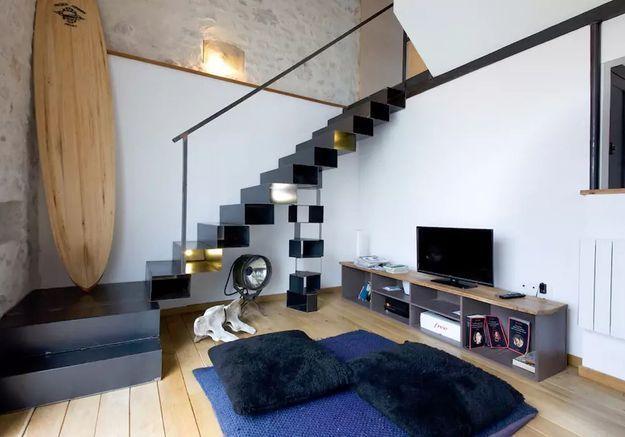 Loft dans un immeuble Art Déco à Biarritz