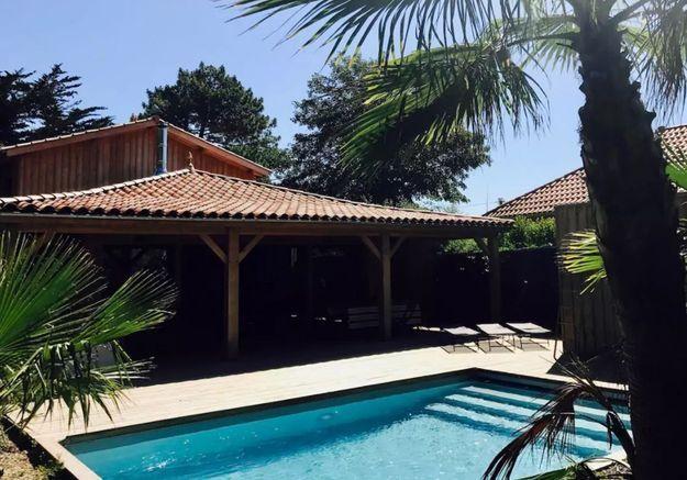 Maison à la déco industrielle près du Cap Ferret