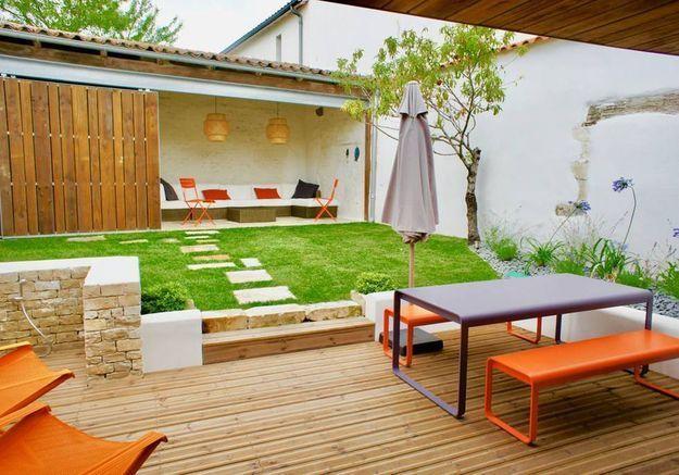 Maison au jardin agréable sur l'Ile de Ré