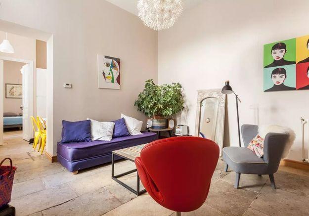 Appartement coloré à Montpellier