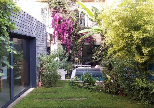 Maison contemporaine avec piscine à Montpellier