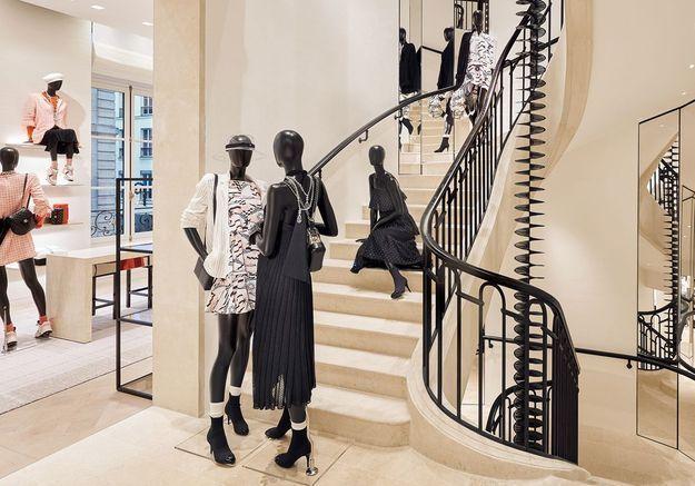 La boutique Chanel du 19 rue Cambon ou quand mode et décoration s'unissent pour le meilleur