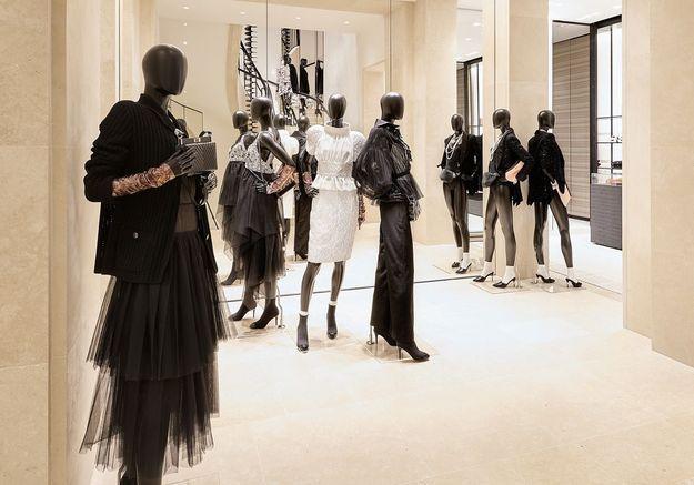 Les mannequins Chanel