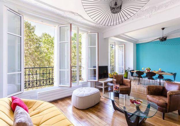 Appartement coloré à Paris