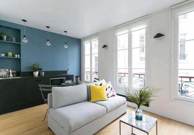 Appartement contemporain à Paris