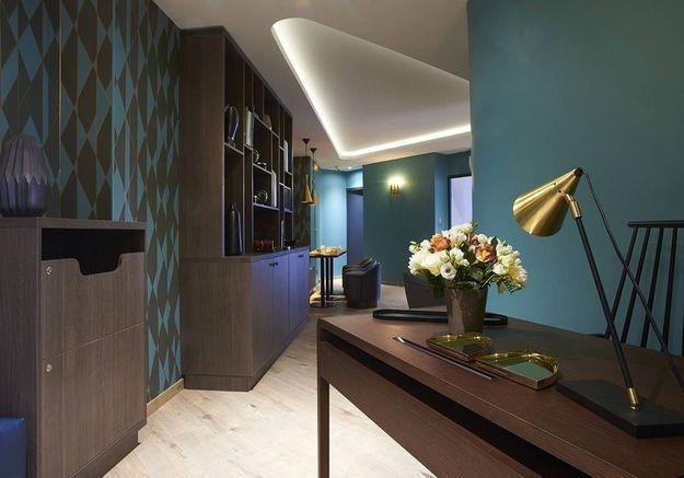 Appartement dans l'air du temps à Paris
