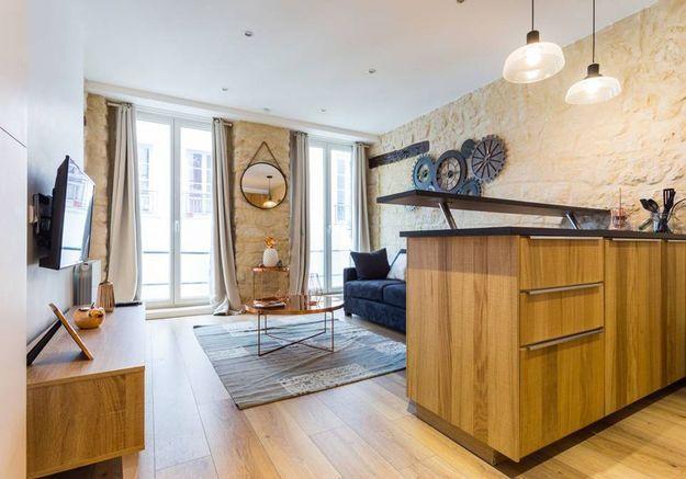Appartement de style industriel à Paris