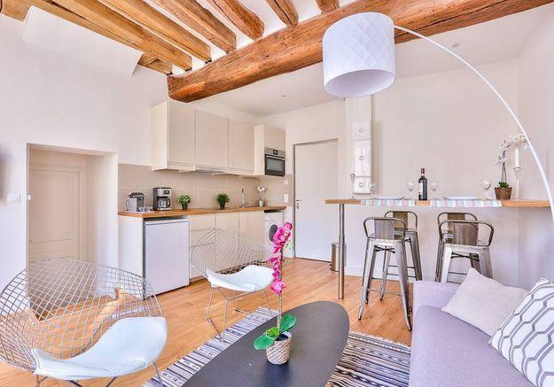 Appartement très lumineux à Paris