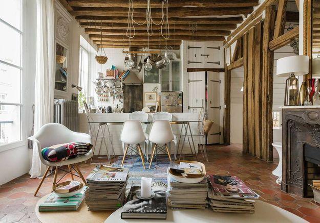 Duplex atypique à Paris