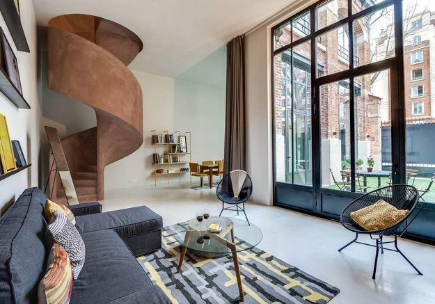 Maison contemporaine à Paris