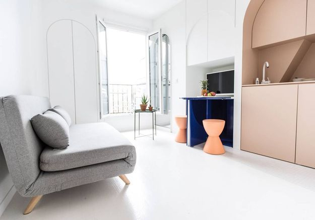 Studio d'architecte à Paris