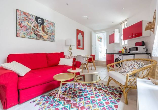 Les plus beaux appartements parisiens disponibles sur - Nid rouge lincroyable appartement paris ...