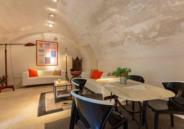 Appartement atypique sous voûtes à Avignon