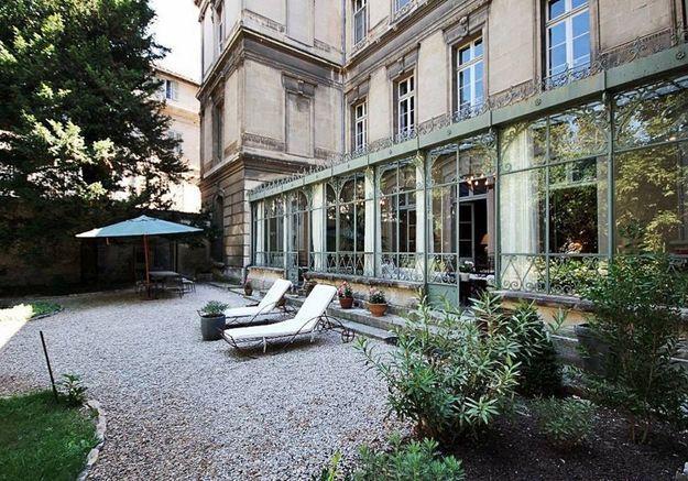 Appartement dans un hôtel particulier à Avignon