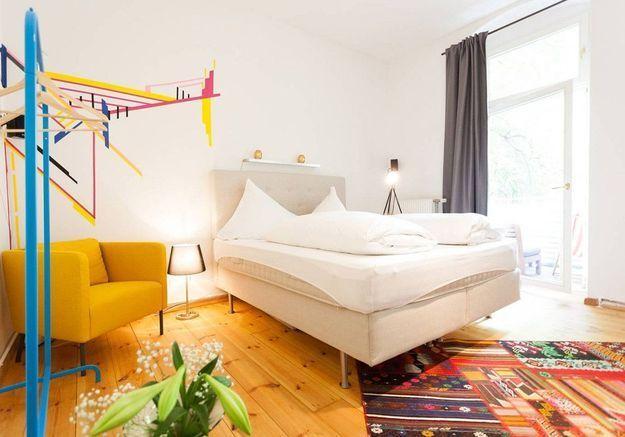 Appartement coloré à Berlin