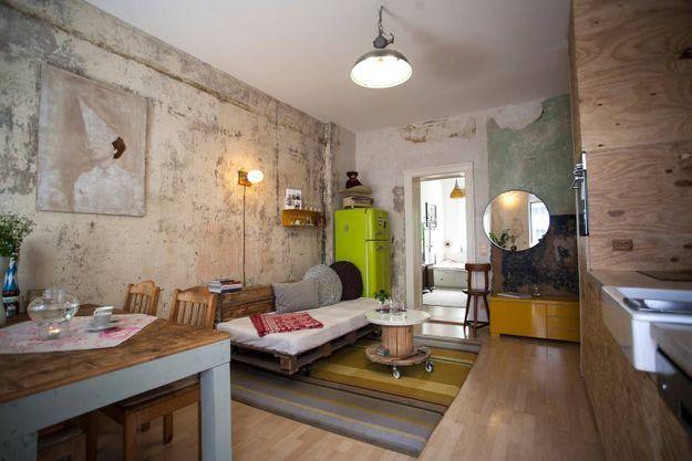 Appartement esprit récup' à Berlin