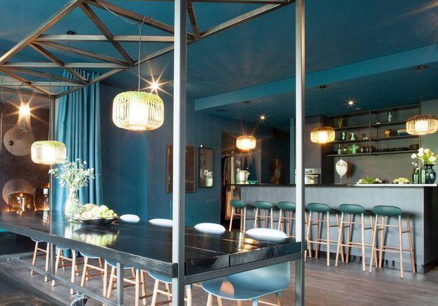 Loft bleu à Berlin