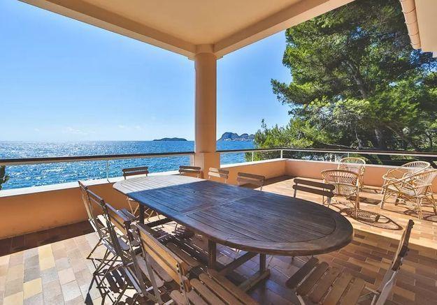 Maison familiale en bord de mer près de Cassis