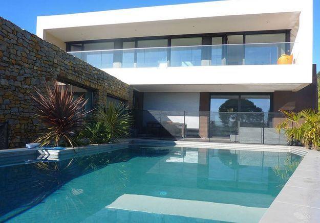 Villa contemporaine avec piscine près de Cassis